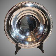 Sheridon Silverplate Serving Bowl -  c. 1970s