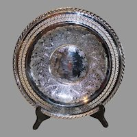 International Silver Company Silverplate Serving Tray - c. 1970s