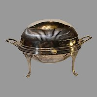 English Silver-plate Breakfast Warmer - W G and S