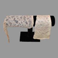 Vintage Petite Lace Gloves - 1930s