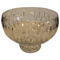 Vintage Waterford Footed Bowl - Marquis