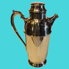 Sheffield Silver -Plate Cocktail Mixer - 1960s