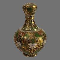 Vintage Cloisonne Vase - China