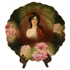 Z. S. and Co. Bavarian Porcelain Cabinet Plate - 1880-1918