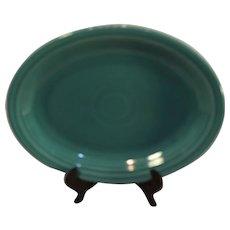 Vintage Fiestaware Turquoise Oval serving Platter