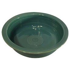 Vintage Fiesta Round Vegatable Bowl, Turquoise - 1950s