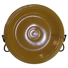 Vintage Fiesta Dinner Plate - Yellow - 1940-1950