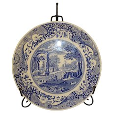 Vintage Spode Italian Pattern Cake Plate