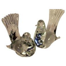 Vintage Grand Crystal Doves - 1960s