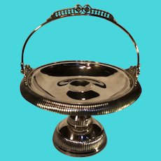 Antique Quadruple-plate Bride's Basket by Homan Silver-plate Company - 1896-1901