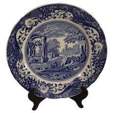 Vintage Spode Italian Pattern Dinner Plate