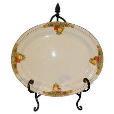 Vintage Transfer Pattern Porcelain Platter