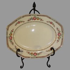 Antique H and K Tunstall English Platter - 1870-1890