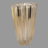 Vintage Rogaska Crystal Vase - 1990s - Slovenia