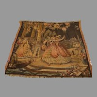 Vintage Italian Tapestry Panels - c. 1980s