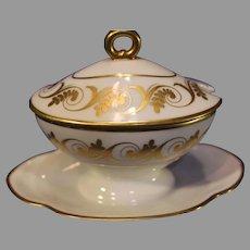 Vintage Ginori Porcelain Sugar Bowls