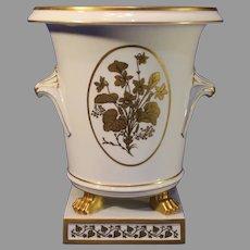 Vintage Montehedeh White Porcelain Cashe Pot - 1950-60s