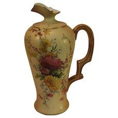 Royal Worcester Porcelain Ewer - 1903 - Worcester England