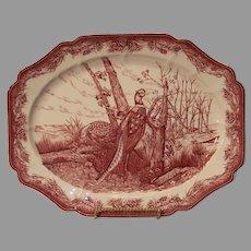 Vintage Wedgewood Porcelain Game Platter
