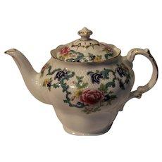 Royal Doulton Flora Dora Gold Tea Pot - 1981