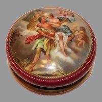 Wagner Hand Painted Porcelain Dresser Box