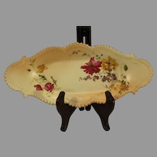 Royal Worcester Blush Ivory Oval Tray - 1903