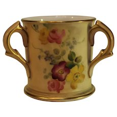 Royal Worcester Blush Ivory Loving Cup - 1899