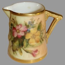Royal Worcester Blush Ivory Creamer - 1912