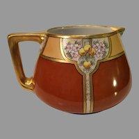 Antique French Porcelain Cider Pitcher - 1900-1914
