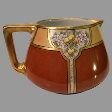 Antique French Porcelain Cider Pitcher - 1900-1914