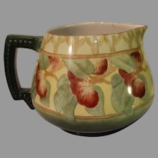 Antique Jean Pouyat Porcelain Cider Pitcher - 1891