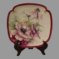 Antique D and Co Limoges Porcelain Dessert Plates - 4 - circa 1870s