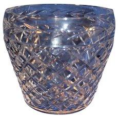 Vintage Gorham Crystal Ice Bucket - c. 1980s