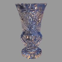 Vintage Waterford Crystal Vase - c. 1980s