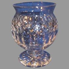 Vintage Gorham Footed Crystal Bowl - c. 1980-1990