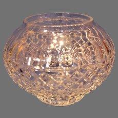 Gorham Crystal Centerpiece Bowl - 1990s