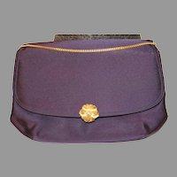 Vintage Morris Moskowitz Dark Purple Cocktail Bag