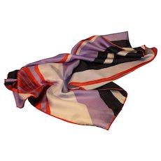 Vintage Silk Scarf produced by Echo
