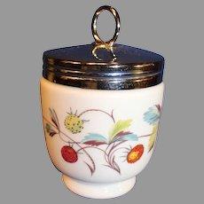 Vintage Royal Worcester Porcelain Egg Coddler
