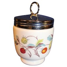Vintage Royal Worcester Porcelain Egg Coddler