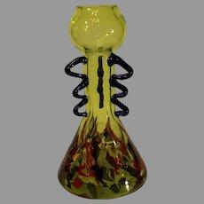 Vintage Murano Art Glass Vase - 1990s