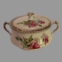 Vintage Porcelain Master Sugar Bowl - Germany - c. 1930s