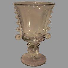 Heisey Glass Company Lariat Blank Vase - 1940s