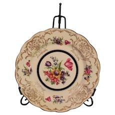 "14 Vintage Royal Bayreuth Porcelain Chargers - ""Garden Flowers"""