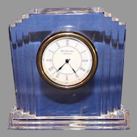 Vintage Waterford Crystal - Metropolitan Mantle Clock