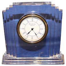 Vintage Waterford Crystal - Metropolitan Mantle Clock