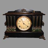 Ingraham Black Cased Mantel Clock - 1885
