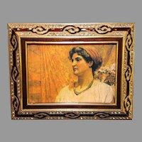 Vintage Beribe Bronze Picture Frame - 1991