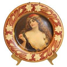 Anheiser-Busch Malt-Nutrine Serving Tray - 1905 - Vienna Art Tray