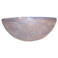 Lalique Crystal Pinson Centerpiece Bowl - c. 1960s